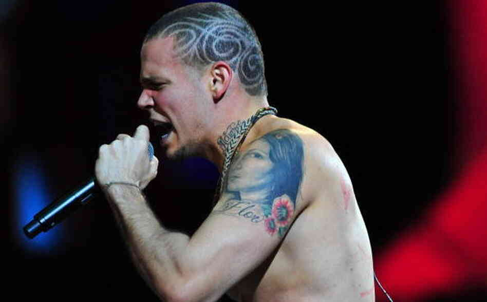 Rene Perez Joglar from the Puerto Rican duo Calle 13.