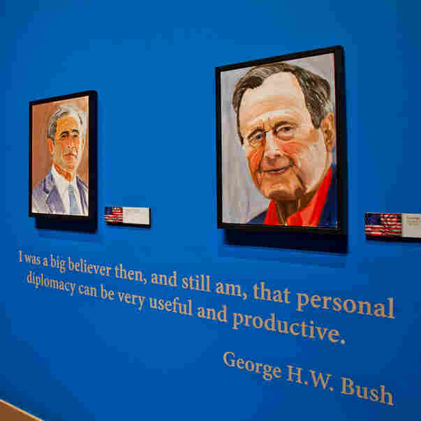 Bush's 'Art Of Leadership' Puts Putin And Others On Display