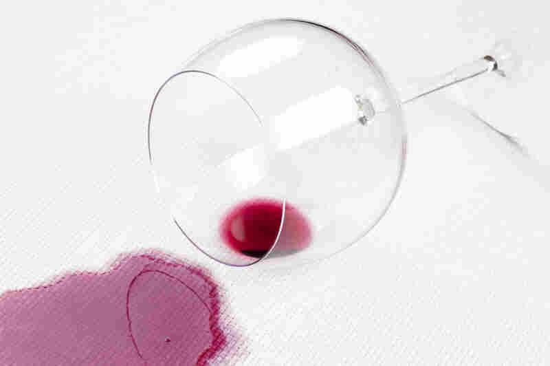 """Jolie Kerr says when you have a fresh red wine stain, pouring table salt — no water — on it will suck it right up. """"You can go pour some wine on your carpet tonight and try it out!"""" she says."""