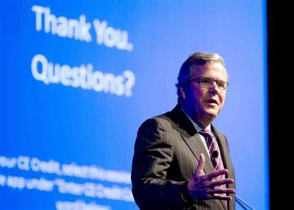 Former Florida Gov. Jeb Bush is part of an effort to redefine the Republican Party.