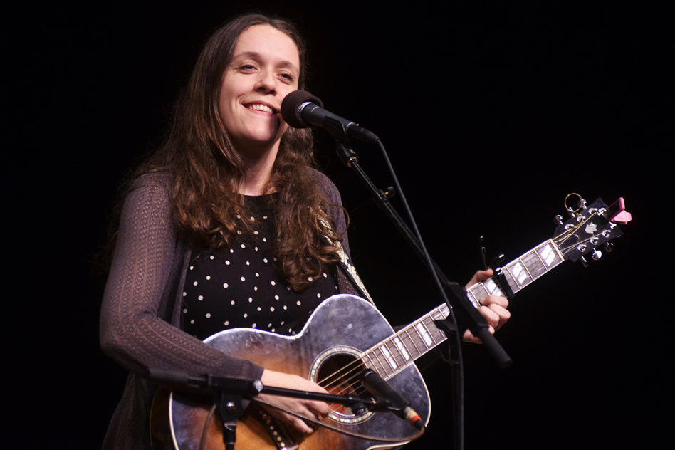 Unlike her family members, Wainwright Roche did not pursue a career in music right away. (Mountain Stage)