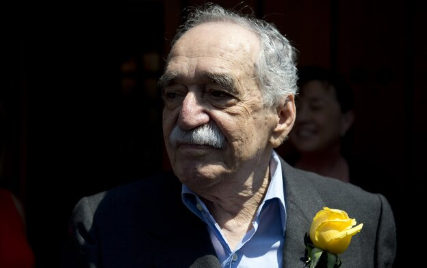 Nobel Prize-winning novelist Gabriel Garcia Marquez appeared in public during a celebration marking his 87th birthday March 6 in Mexico City.
