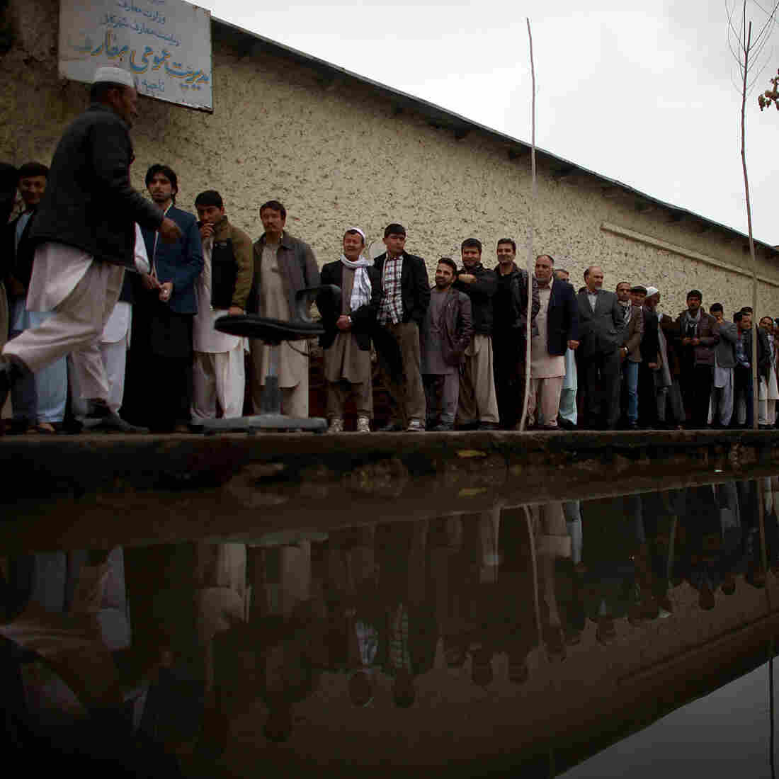 Defying Taliban Threats, Afghans Vote For Next Leader