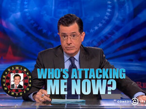 Stephen Colbert responded to criticism about a tweet about his show from his TV network last Monday, saying he would dismantle the ima