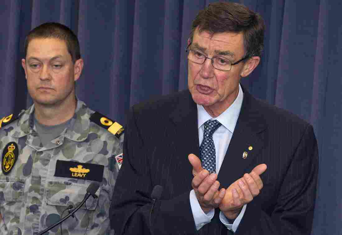 Angus Houston, head of the Joint Agency Coordination Center leading the search for missing Malaysia Airlines flight MH370, says ships are being sent to investigate reports of a signal being detected on a frequency used by black box equipment.