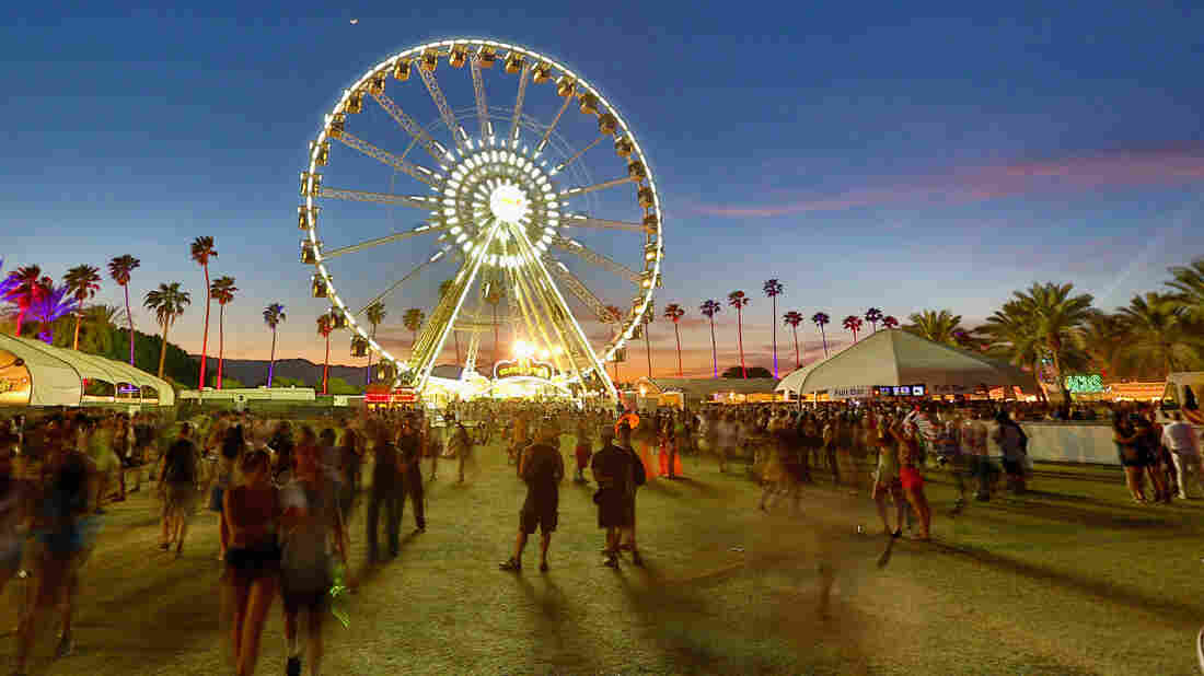 The view at the 2013 Coachella Valley Music & Arts Festival at the Empire Polo Club in Indio, Calif.