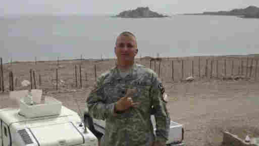 U.S. Spc. Ivan Lopez is pictured in the Sinai Peninsula between 2007 and 2008, during his service with the 295th Infantry of the Puerto Rico National Guard in an undated handout photo by PR National Guard. Lopez killed three other soldiers and himself at Fort Hood, Texas, this week, officials say.