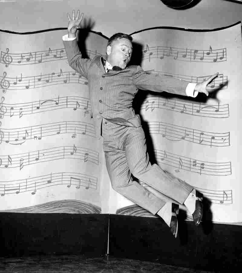 Rooney performs a dance routine during rehearsal for the television movie Mr. Broadway in 1957. While Rooney grew older, he never grew taller, which prevented him from being cast as a leading man. Facing mounting financial problems, he took a number of smaller parts during the 1950s and '60s.