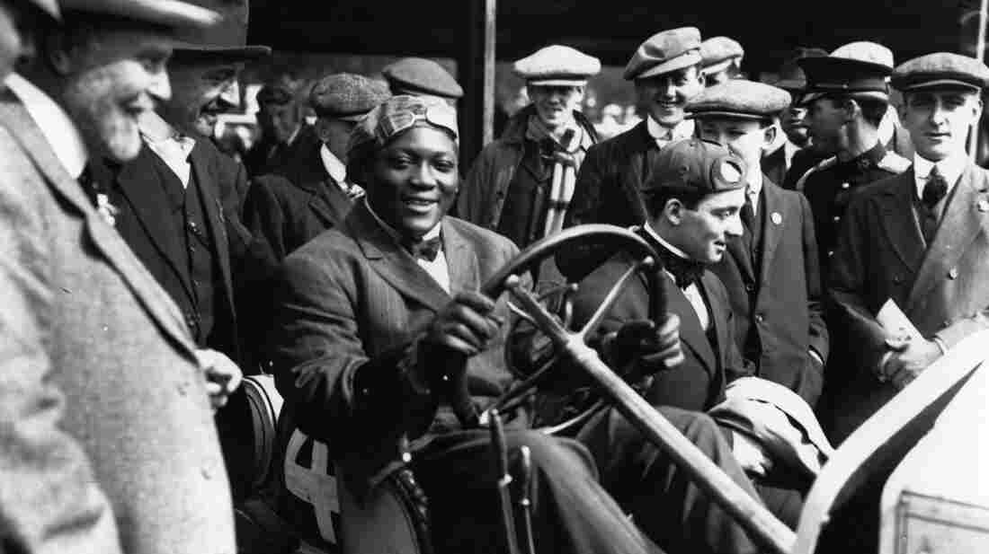 Jack Johnson, the world's first black heavyweight boxing champion, was an international superstar in the early 1900s. His prowess in the ring brought him huge amounts of cash, which he spent on fast cars, fine clothes and women.