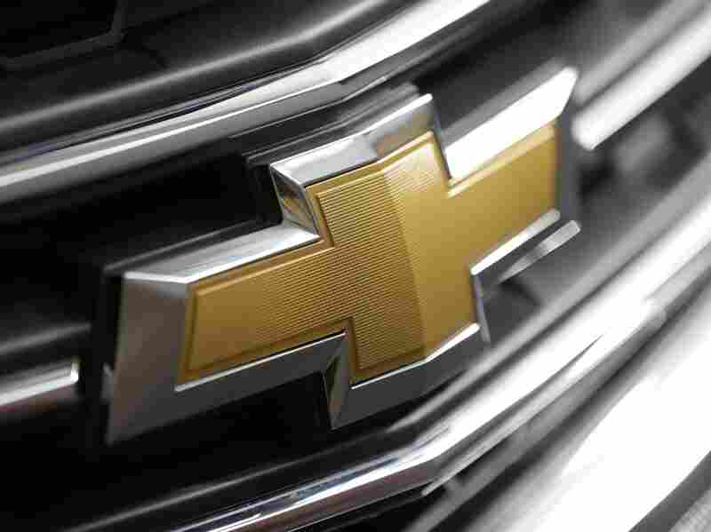 A Chevrolet logo on the grill of a 2013 Traverse at the 2013 Pittsburgh Auto Show. General Motors is recalling more than 1.5 million vehicles, including SUVs, vans and Cadillacs, for defective ignition switches and other problems.