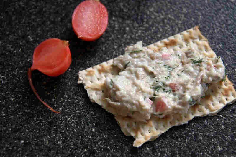 Smoked Mackerel Spread With Pickled Radish