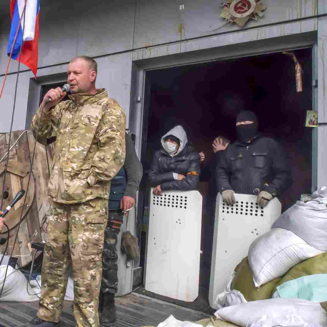 Ukrainian Protesters Seize Weapons, Raising The Stakes