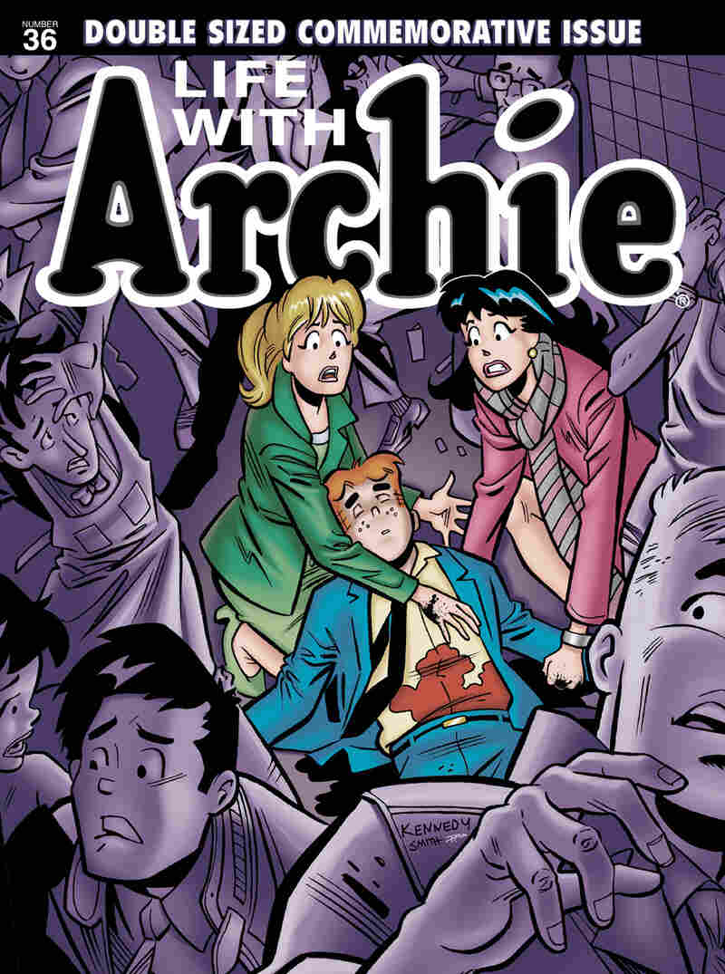 Say It Ain't So: Archie Andrews meets his maker in Archie Comics' upcoming issue of Life with Archie.