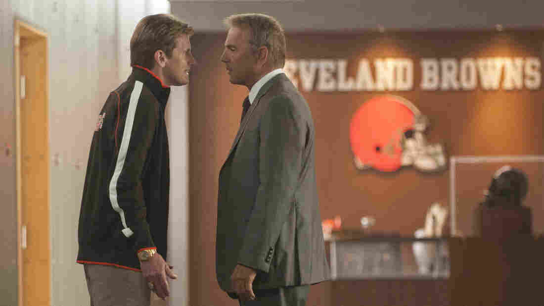 Denis Leary plays a wound-up coach and Kevin Costner plays a general manager in Draft Day, a comedy set on the NFL's most stressful day of the year.