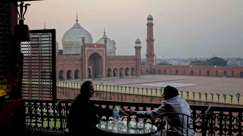 Despite enduring violence and instability in Pakistan, artists and authors are thriving on the international stage. For many of them, culture has become a kind of resistance. Above, the 17th century Imperial Mosque in the Old City of Lahore serves as a reminder of the historical legacy and texture of Pakistan's art capital.