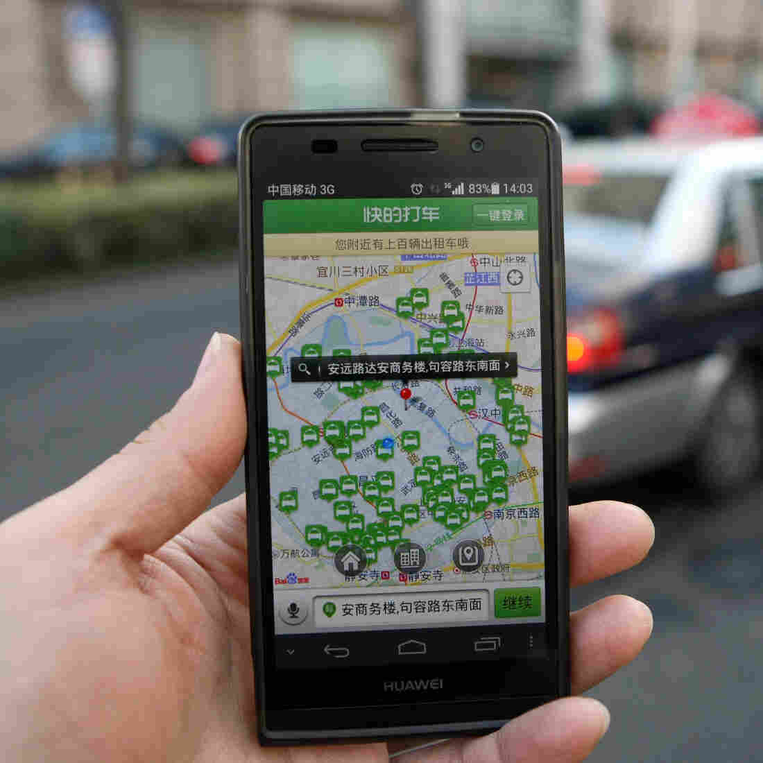 What A Ban On Taxi Apps In Shanghai Says About China's Economy