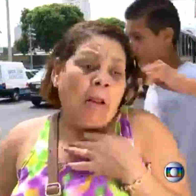 How Bad Is Brazil's Crime? Watch This Mugging On Live TV
