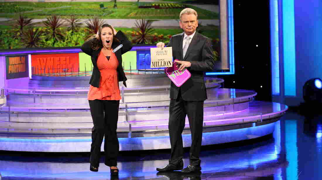 After correctly guessing a word puzzle on May 30, 2013, Autumn Erhard becomes the second contestant on Wheel of Fortune to win $1 million.