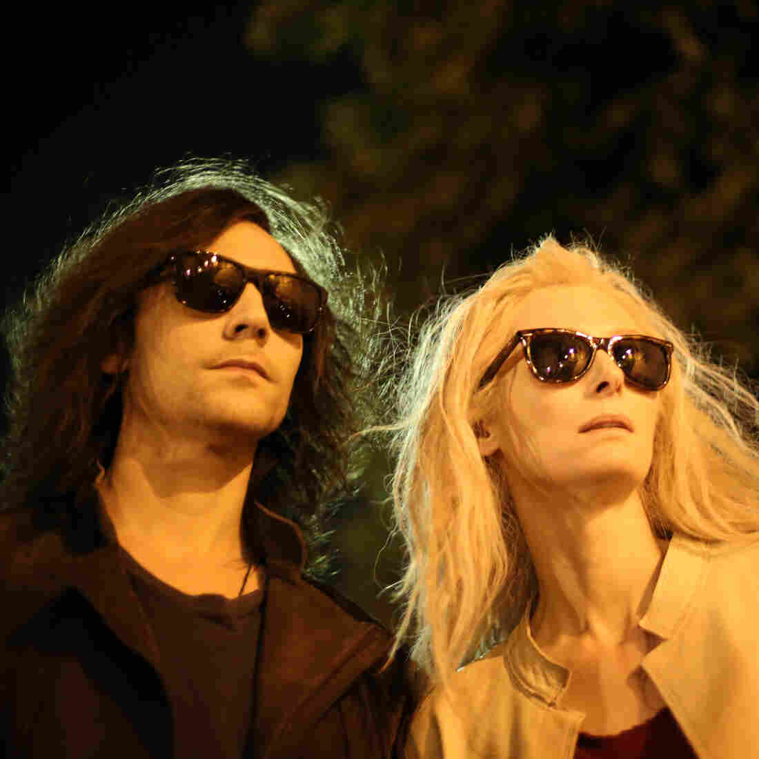 Tom Hiddleston and Tilda Swinton play some really hip vampires in Jim Jarmusch's Only Lovers Left Alive.