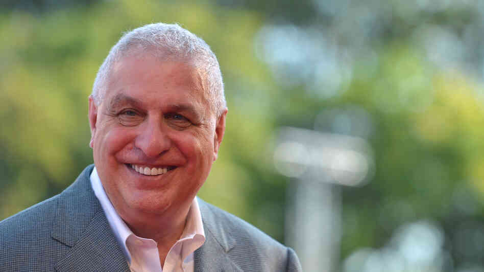 Director Errol Morris arrives for the screening of The Unknown Known at the 70th Venice Film Festival in September 2013.