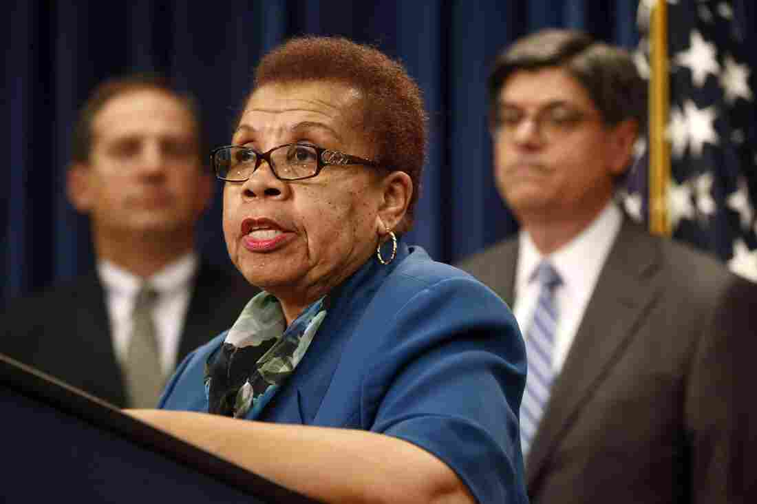 Acting Social Security Commissioner Carolyn Colvin at a news conference last year. She says women need to start saving for retirement early in their careers.