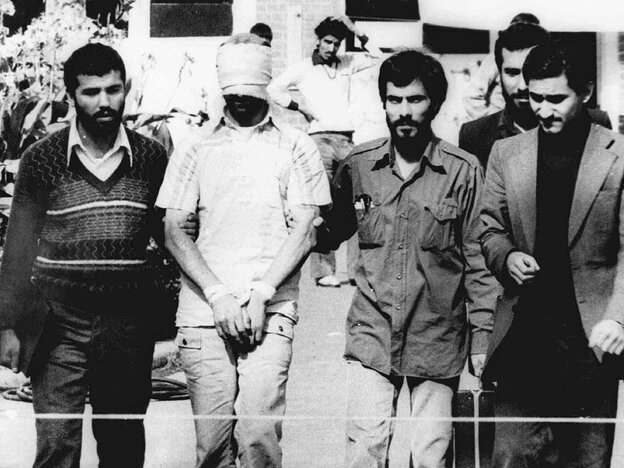 Hostages being held at the U.S. Embassy in Tehr