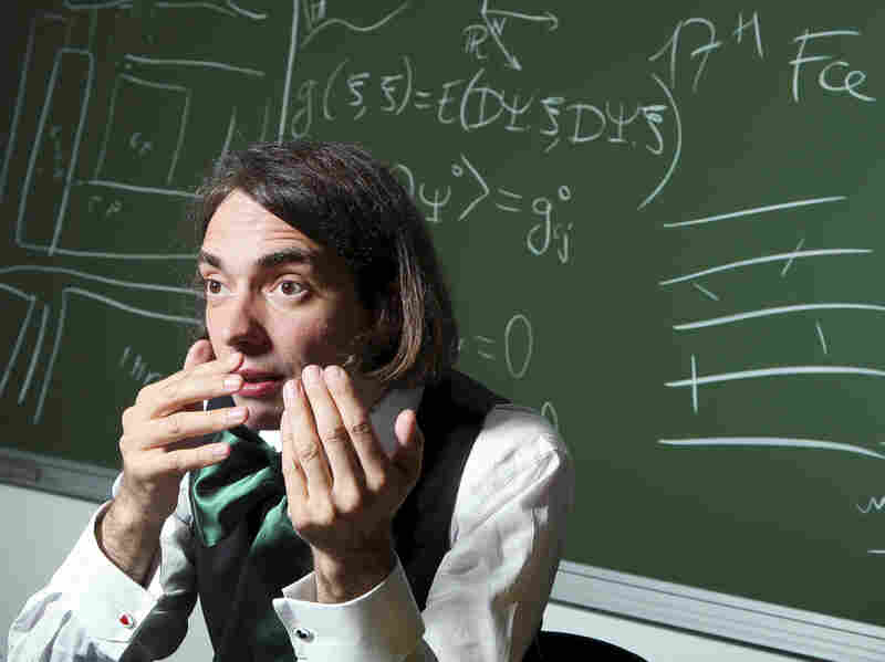 Cedric Villani, mathematician.