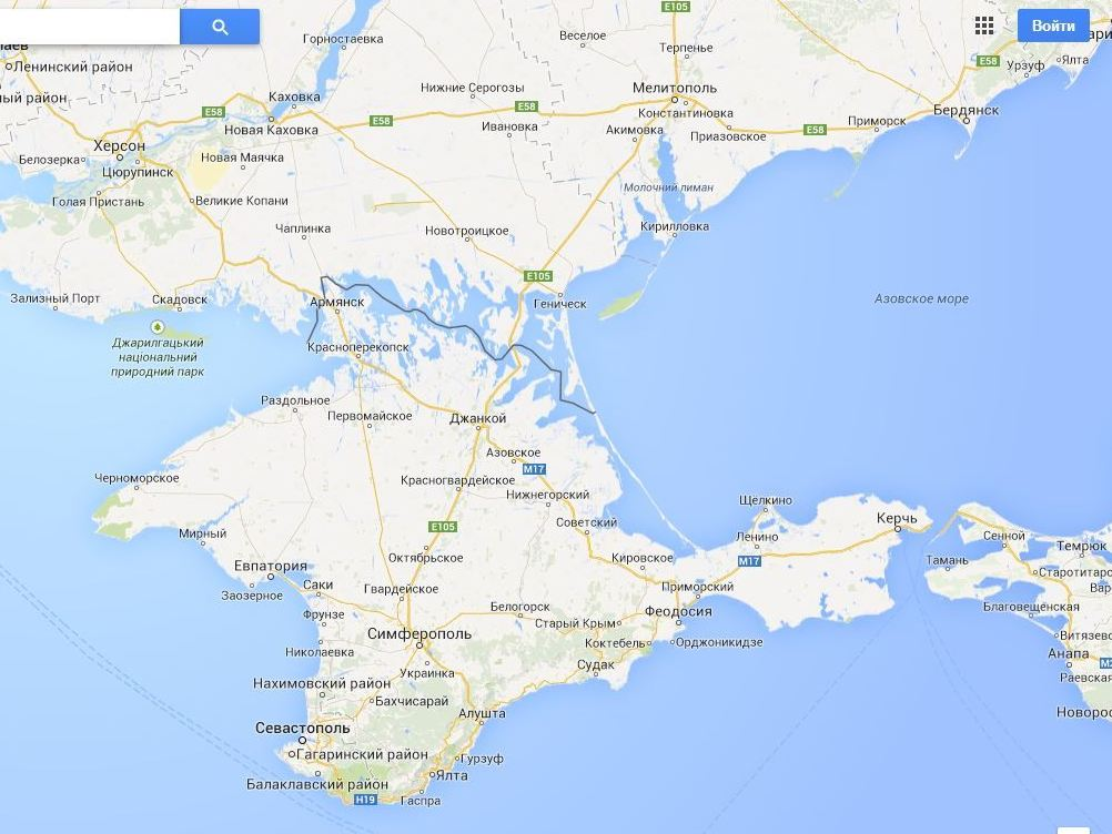 Google Map Of Russia.With Crimean Borders In Dispute Google Maps Has It Both Ways Ncpr