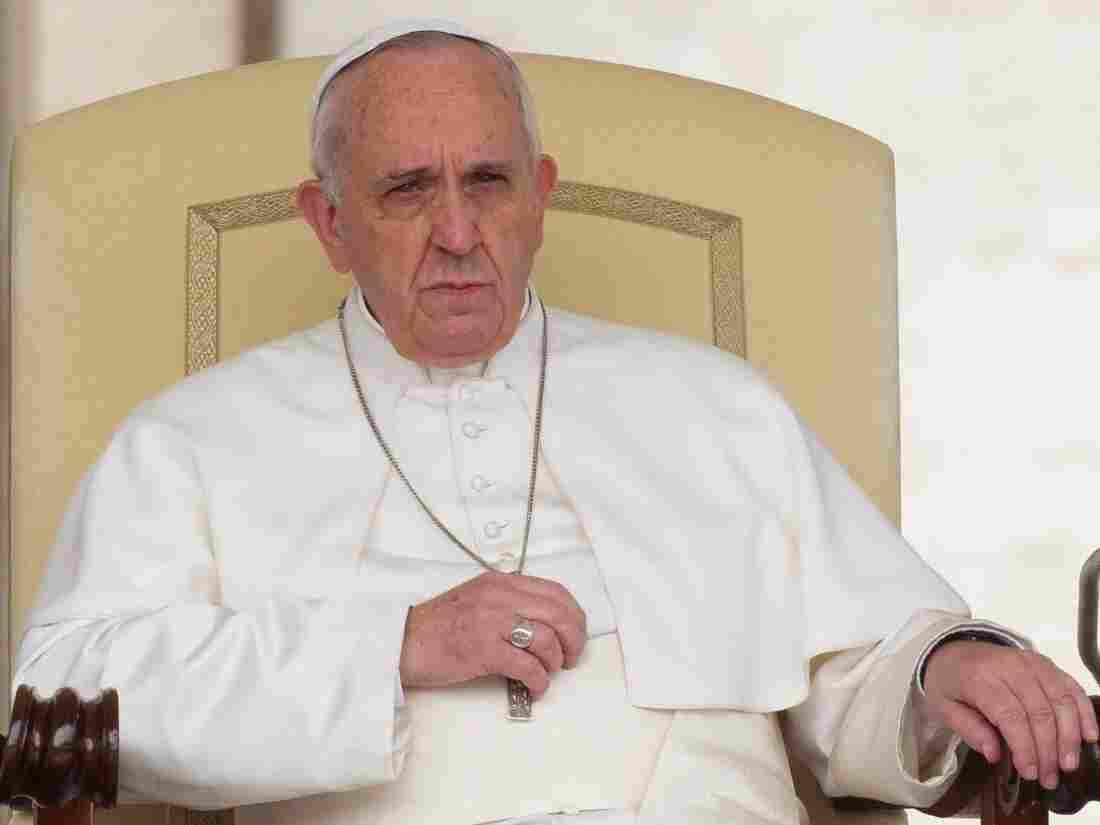 Pope Francis on Wednesday in St. Peter's Square, Vatican City.