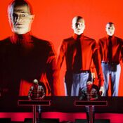 Kraftwerk at the 9:30 Club in Washington, D.C. The band continues to break new ground in concert visuals.