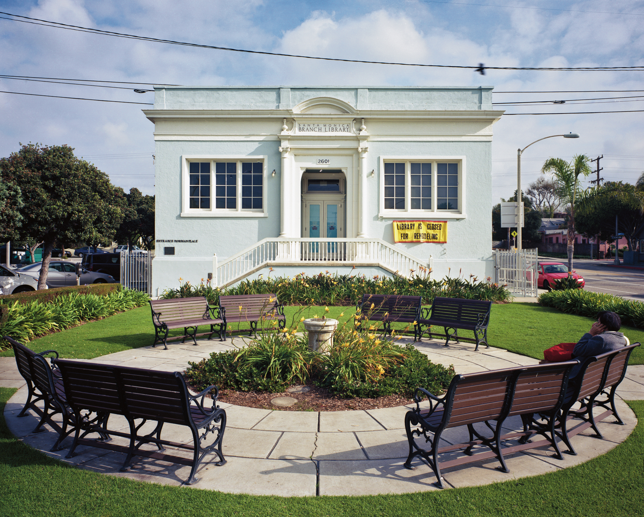 Ocean Park Branch Library in Santa Monica, Calif. (2011)