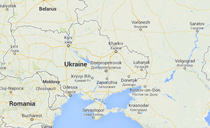 Google Maps Displays Crimean Border Differently In Russia US - Google map of us