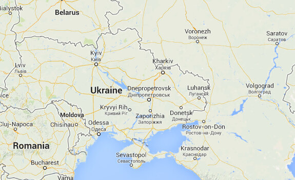 Google Maps Displays Crimean Border Differently In Russia Us - Google-us-map