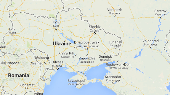 Google Maps Displays Crimean Border Differently In Russia US - Maps ukraine to us