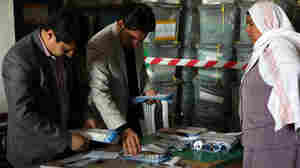 Early Afghan Election Results Set Candidates Posturing