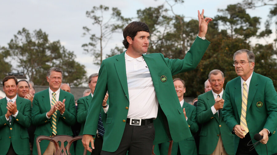 Bubba Watson Dons Green Jacket For Second Time At Masters : The ...