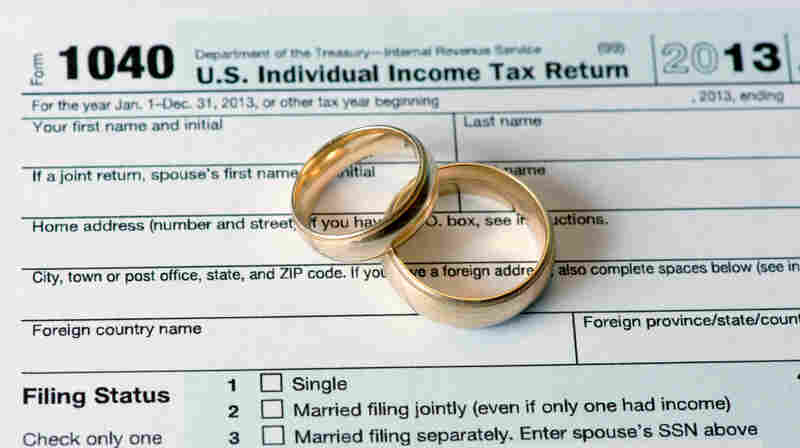The U.S. tax code, which dates back to the days of Ozzie and Harriet, works against dual-income spouses. In some cases, it's cheaper for one spouse to stay home.