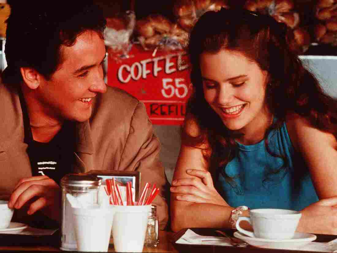 John Cusack and Ione Skye in Say Anything.