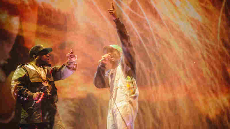 Reunited And It Feels A Little Awkward: OutKast At Coachella