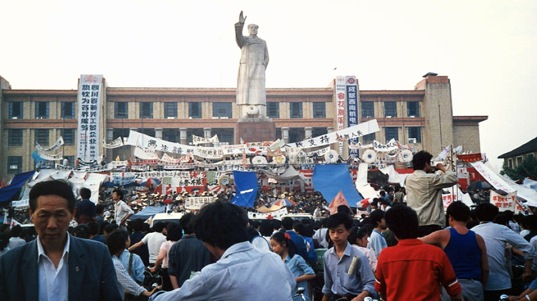 After 25 Years Of Amnesia, Remembering A Forgotten Tiananmen