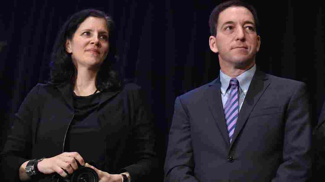 Journalists Laura Poitras and Glenn Greenwald helped The Guardian win a Pulitzer Prize for public service along with The Washington Post Monday, for their stories based on NSA documents provided by Edward Snowden.