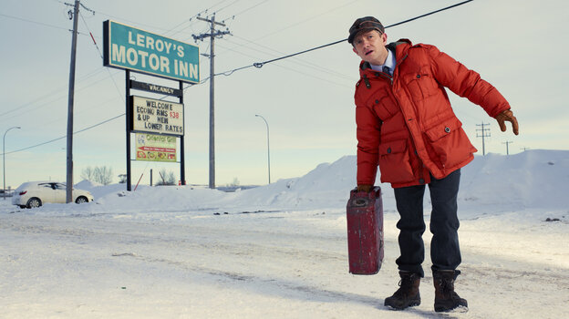 Martin Freeman as Lester Nygaard in FX's Fargo.