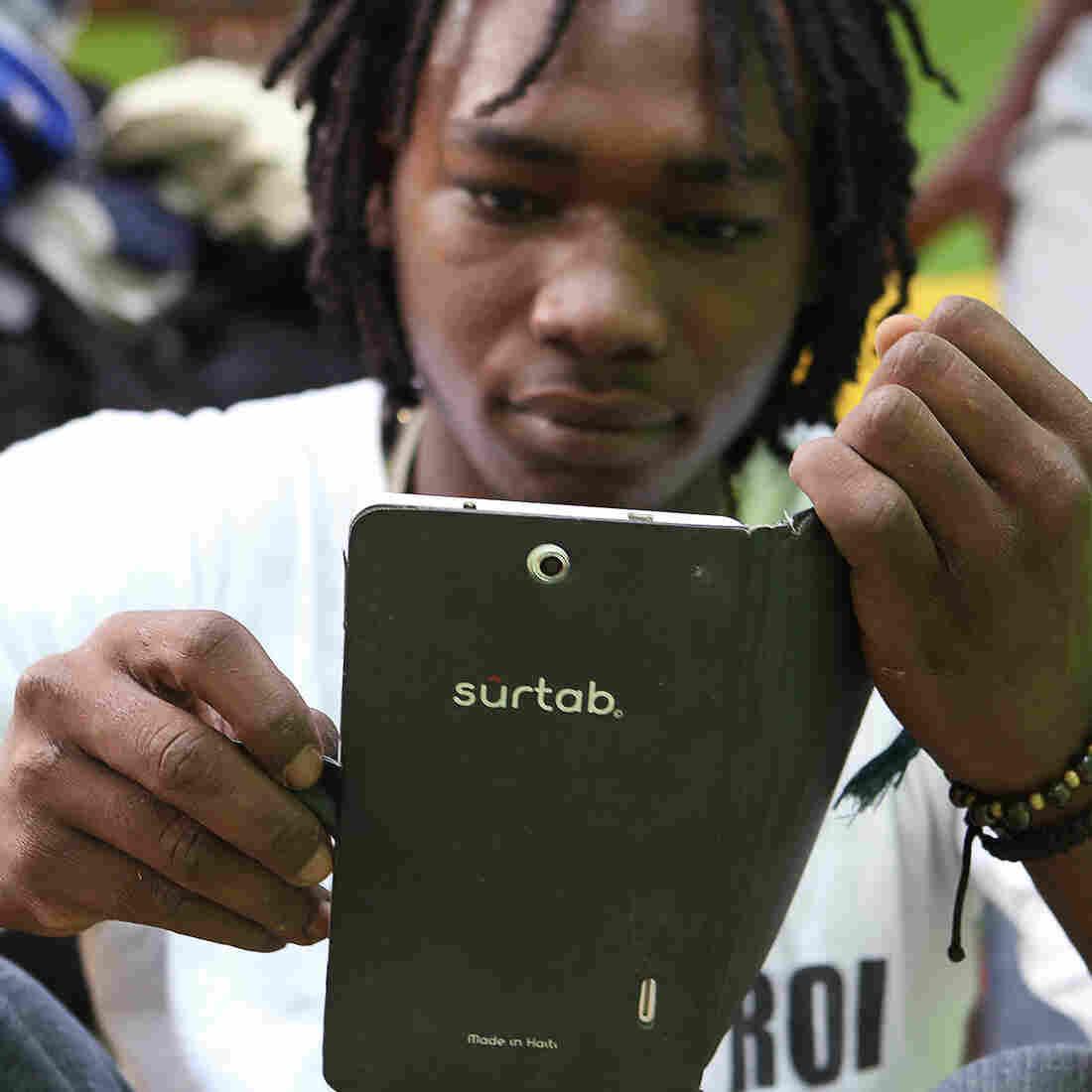 A Small Tablet Company Brings High-Tech Hopes To Haiti