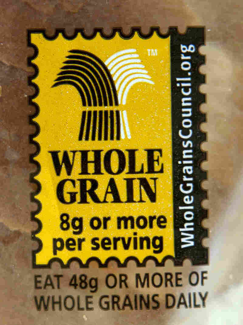 This Whole Grain stamp started showing up on products in 2005.