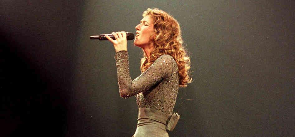 Celine Dion in 1998