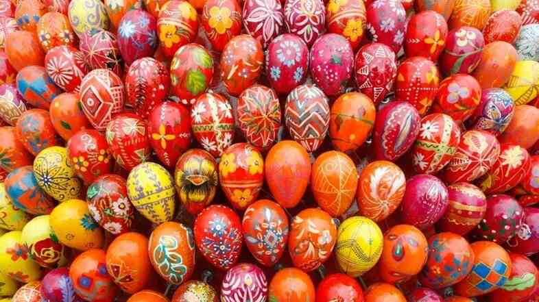 Ukrainians have been crafting elaborately decorated eggs for thousands of years.