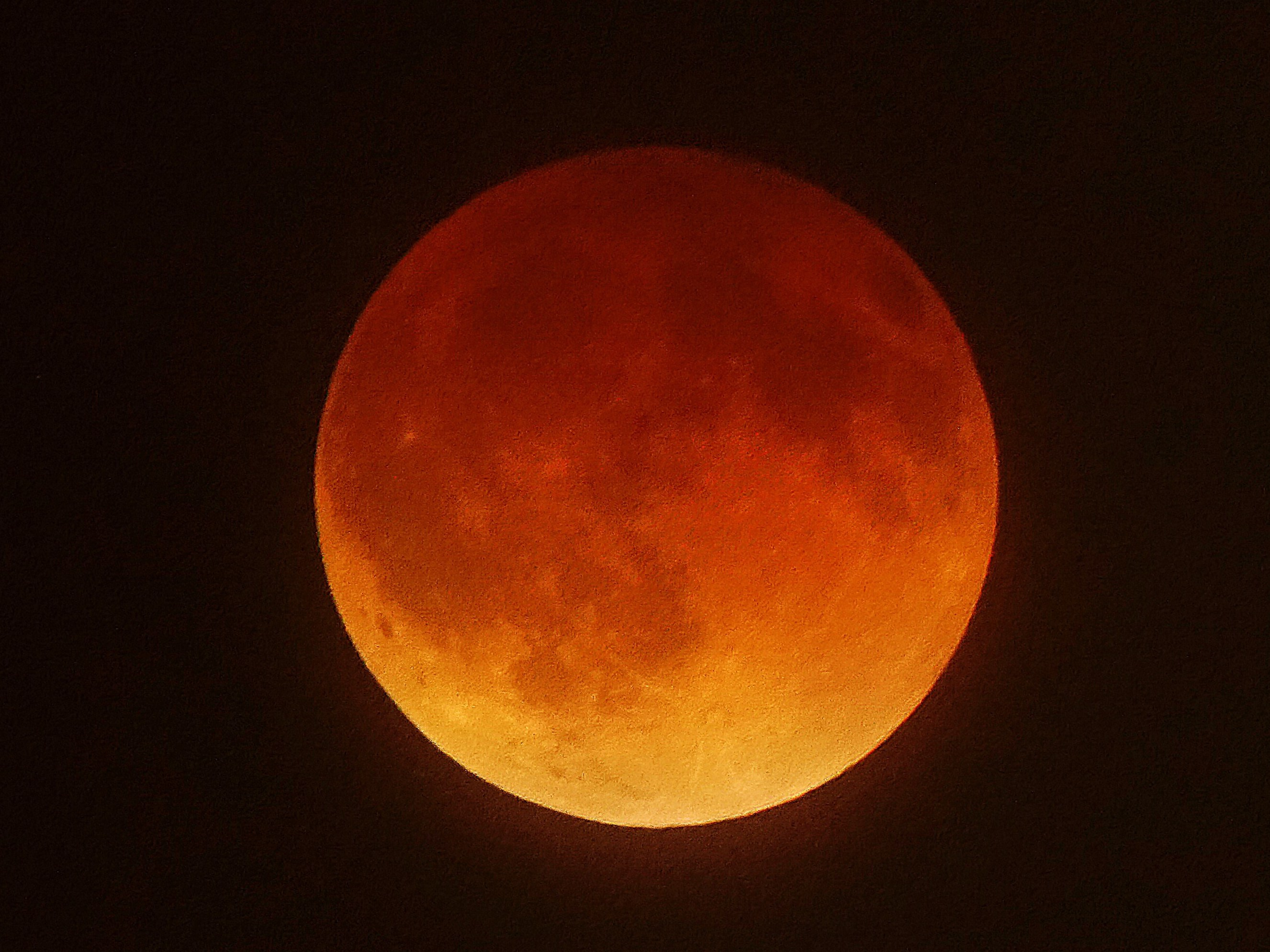 Did You See It? If Not, Here's The 'Blood Moon'