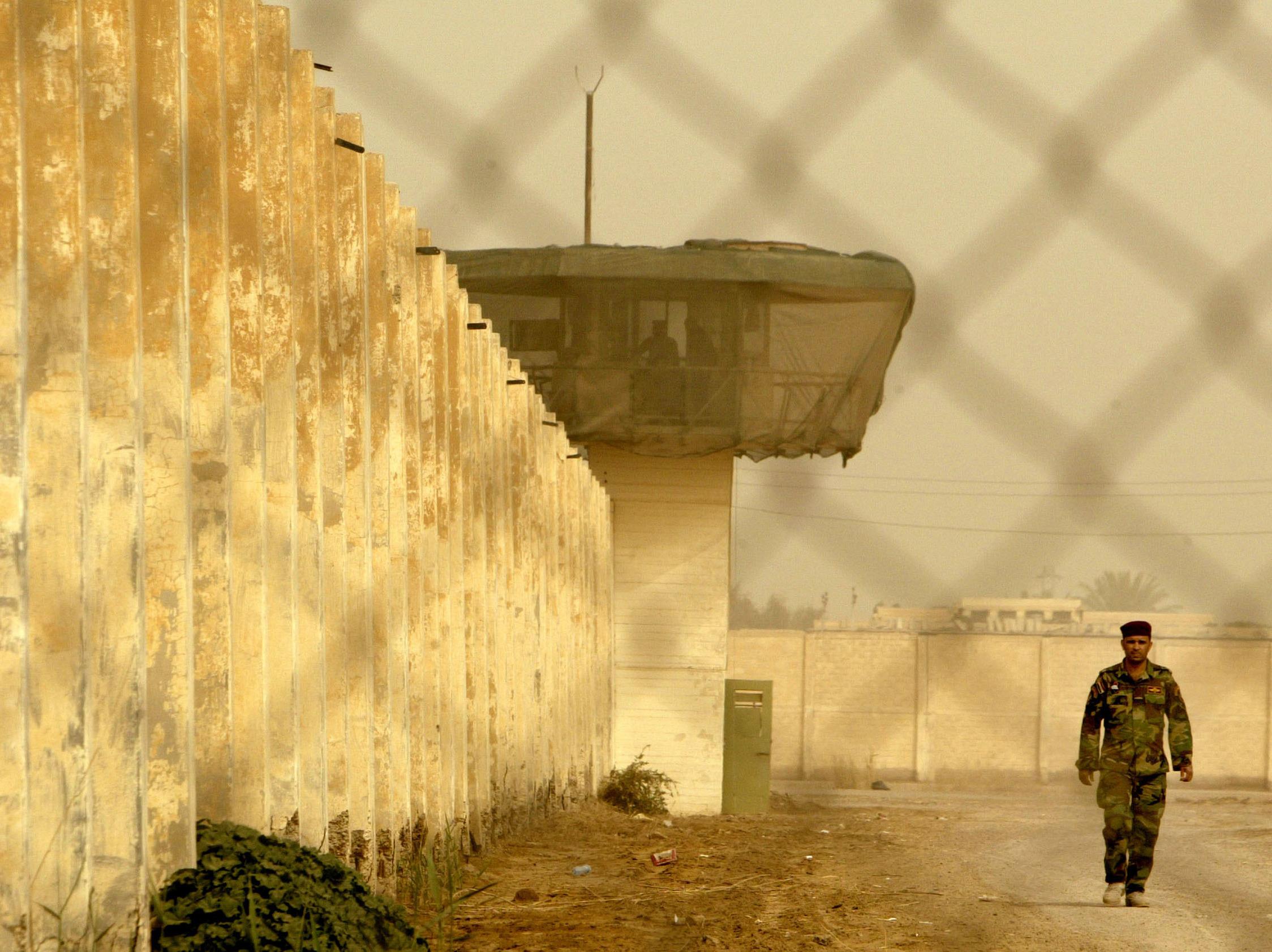 Iraq's Infamous Abu Ghraib Prison Temporarily Closed