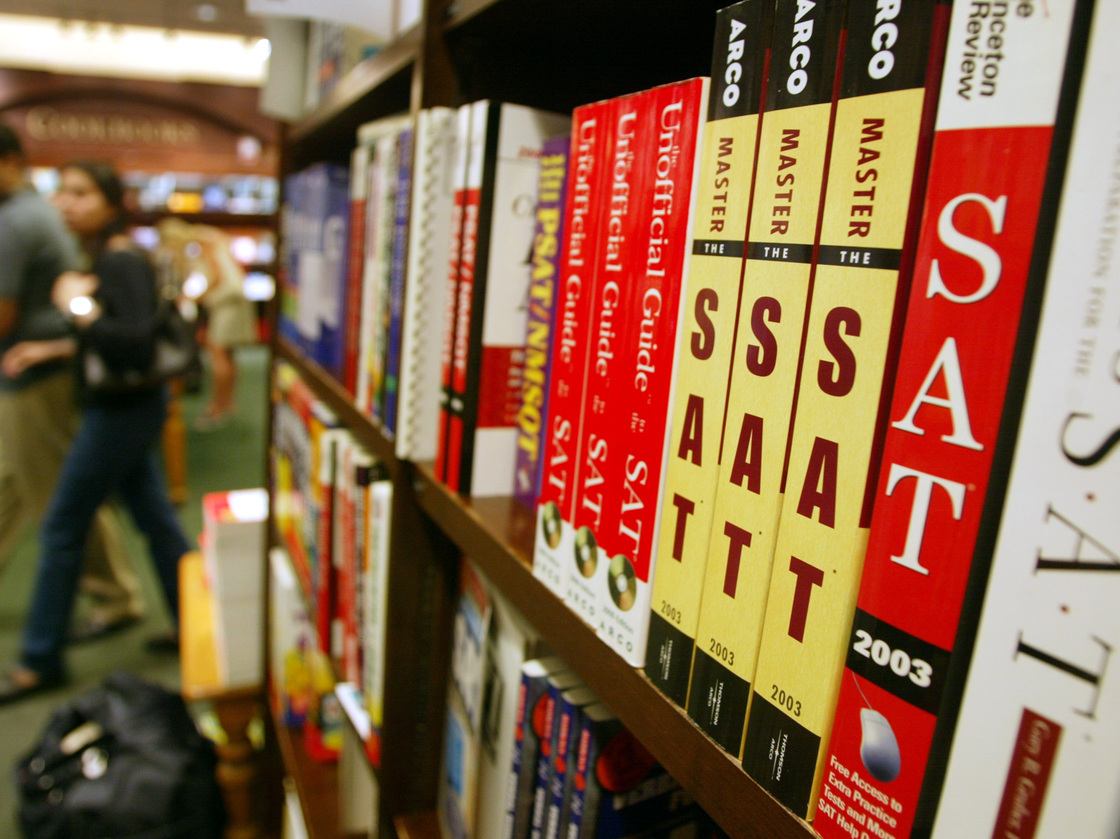 Is the writing section of the SAT included in the $43 regular test fee?