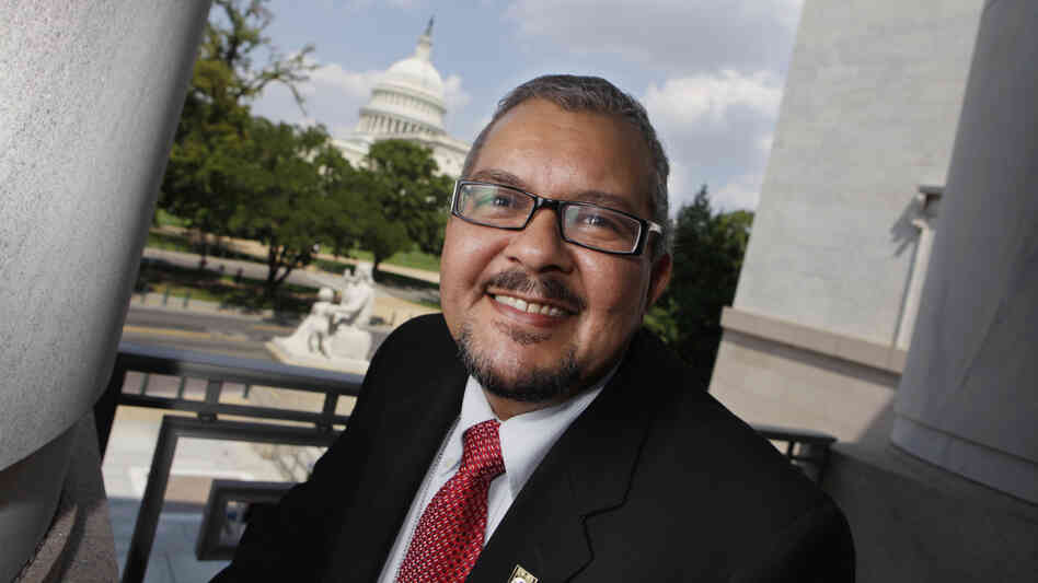Diego Sanchez, the first openly transgender person to work as a legislative staffer on Capitol Hill, helped to develop a new Justice Department program that trains law enforcement to be more sensitive to the needs of transgender people.